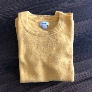 NWOT Yellow Crew Neck Sweater